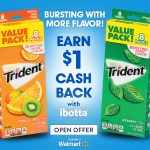 Trident Sugar Free Gum, Back To School, iBotta