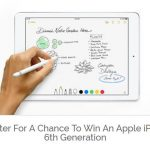win an ipad, apple ipad, ipad 6