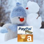 win amazon, win paypal, win a gift card