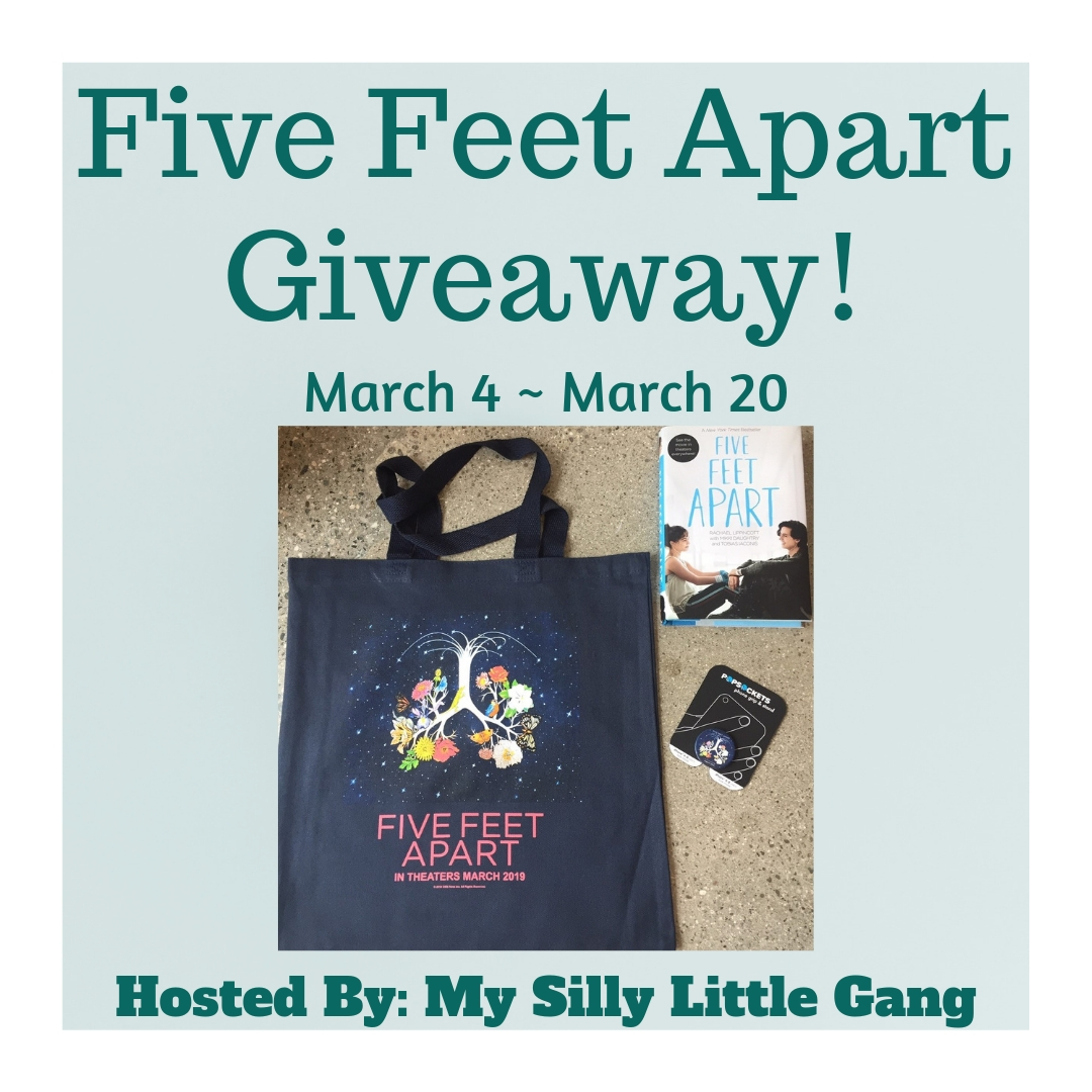 Enter To #Win The Five Feet Apart #Movie #Swag