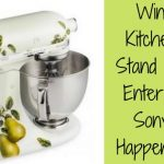 chance to win, win a kitchen aid mixer, sweepstakes
