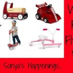 Enter to win a different Radio Flyer product
