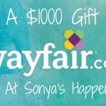 Enter to win a $1000 Wafair GC and More