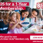 savings, BJ inner circle, good deal