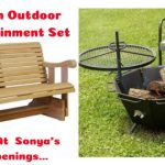 sweepstakes, win outdoor entertainment set, sweeps