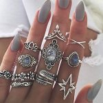 boho vintage jewelry, good deal, silver jewelry