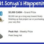 win cash, sweepstakes today, weekly prizes