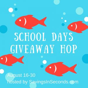 school days giveaway hop, win a gift card, giveaway