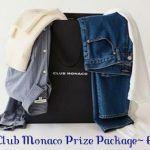 win a prize package, win clothing, club monaco