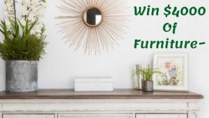 sweepstakes hobby, win furniture, win bedroom furniture