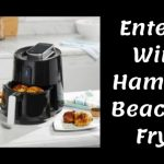 air fryer, hamilton beach, enter to win