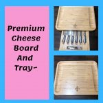 Premium Cheese Board Tray, Sonya's Happenings... Holiday Gift Guide