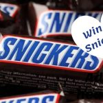Snickers, enter to win, win