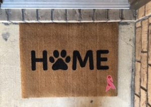 welcome-a-cure, doormat, review, giveaway