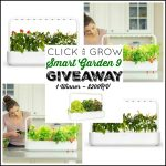click and grow smart garden 9, gift iea, giveaway