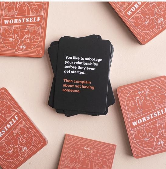 WorstSelf Card Game By BestSelf Review~ Loved It! #ad