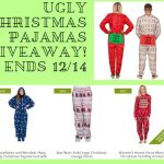 Ugly Christmas Pajamas, Giveaway, Enter to win, Holiday Gift