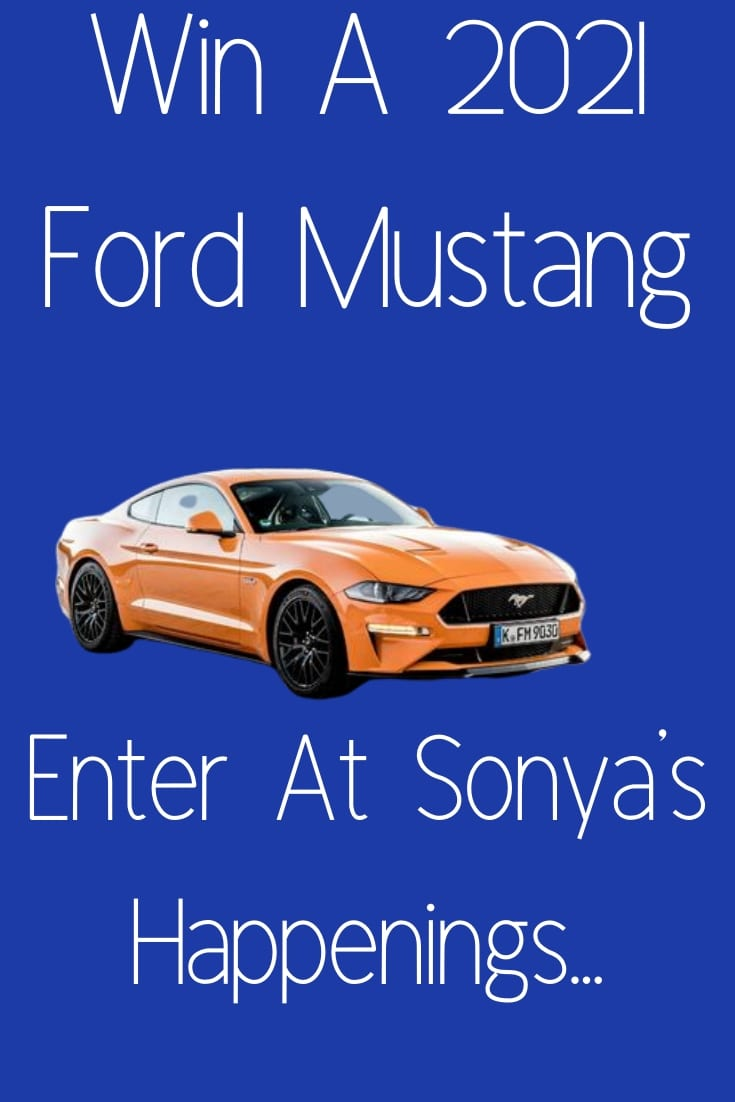 Enter To #Win a 2021 Ford Mustang GT Valued at $45,000~ #Sweeps Ends 12-4