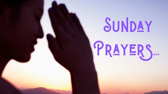 Sunday Prayers, Prayers, Pray for one another