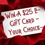 enter to win, sweepstakes bucket list, win a gift card