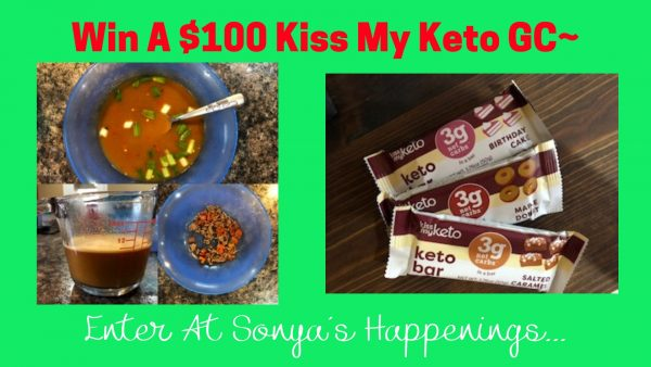 Kiss My Keto, Keto diet, Giveaway, Keto snacks and foo