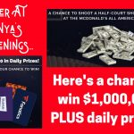 win cash, win a trip, enter to win