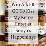 Kiss My Keto, giveaway, Kiss My Keto White Chocolate Bar