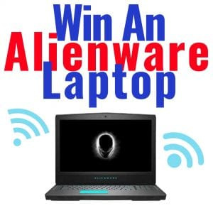 alienware lapton, win a laptop