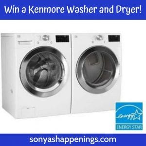 win a Kenmore washer and dryer, win a washer and dryer