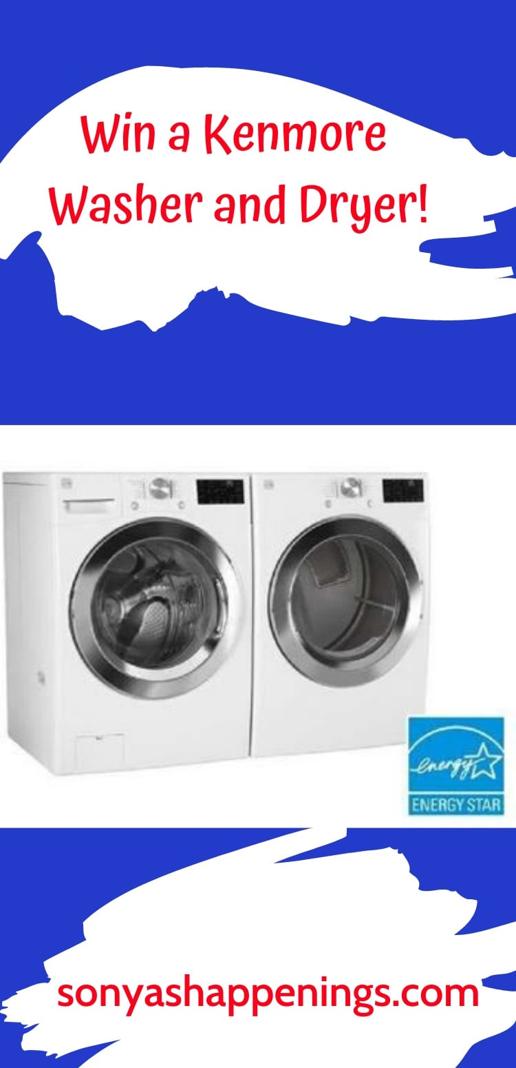 Win A Kenmore Washer And Dryer ~ sweeps ends 5-31