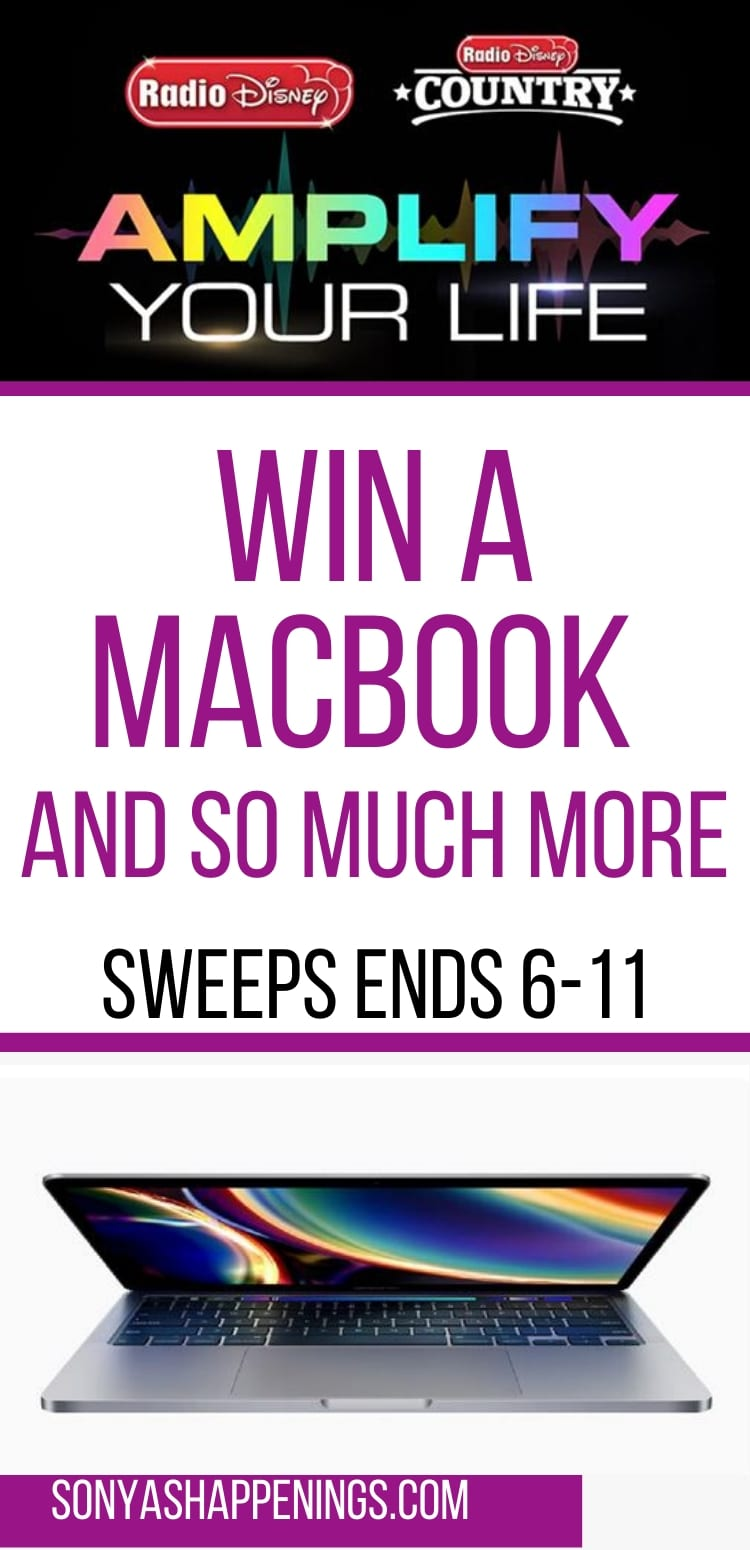 Win a MacBook laptop and more (Total ARV $2,350) ~ sweeps ends 6-11
