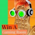 gaming room makeover sweepstakes, gaming room makeover