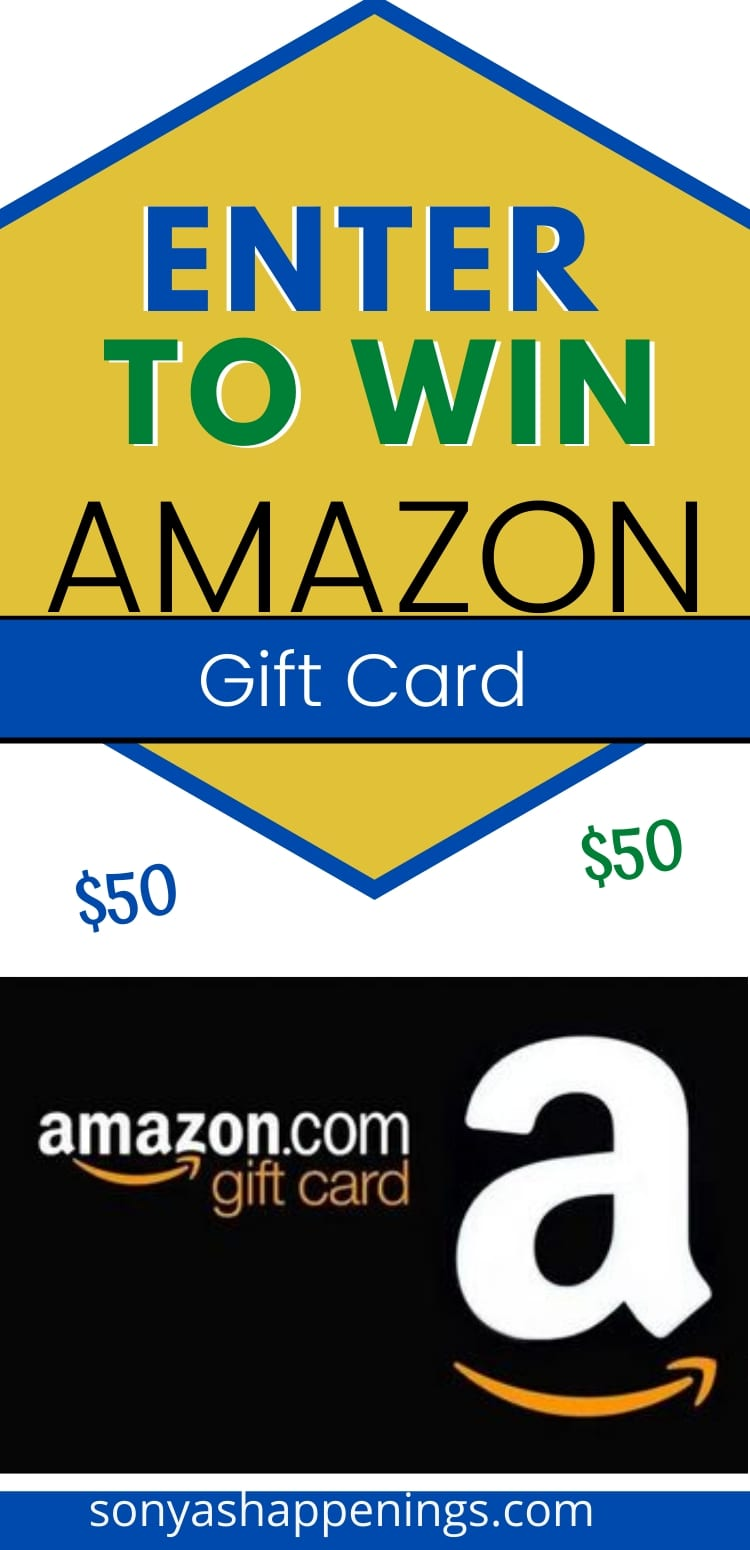 Win $50 Amazon gift card~ giveaway ends 7-19