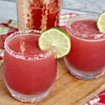 super easy watermelon margarita, mixed drink