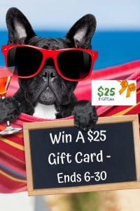 win a giftcard, $25 giftcard