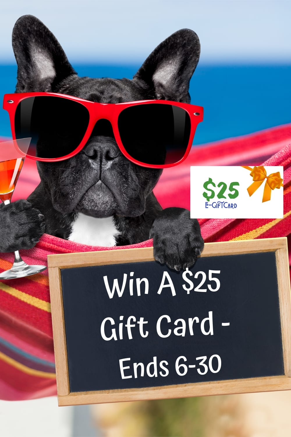 Win a $25 giftcard ~ giveaway hop ends 6-30 #SummerGiveaways