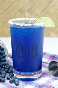 frozen blueberry margarita, blueberry margarita