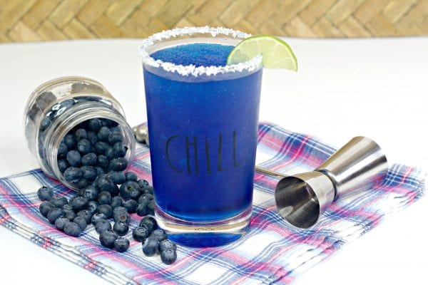 blueberry brozen margarita, blueberry margarita