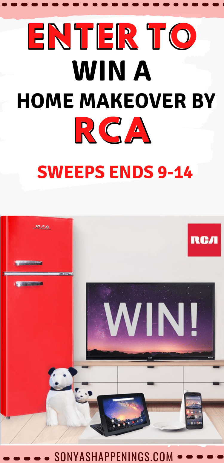 Win an RCA home makeover ~ sweeps ends 9-14