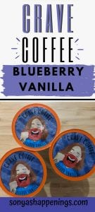 crave blueberry vanilla coffee, blueberry vanilla