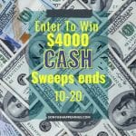 $4000 HGTV cash, win $4000 cash