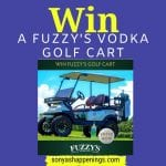 fuzzy's vodka golf cart
