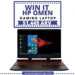 win an HP OMEN gaming computer, gaming computer
