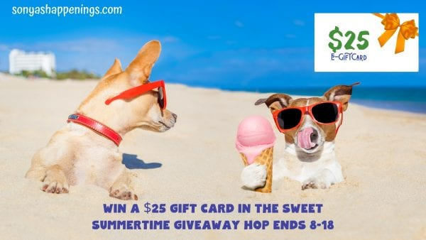 sweet summertime giveaway hop, win a $25  gift card