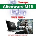 win alienware M15