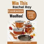 win Rachel Ray Cookware