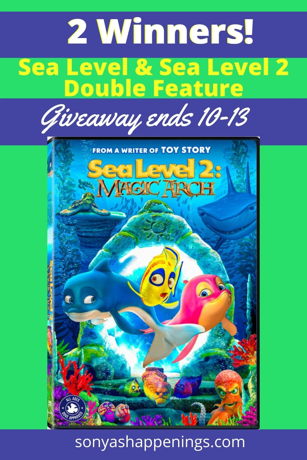 Win Sea Level and Sea Level 2 - double feature (2 winners)- Giveaway ends 10-13