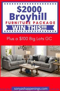 broyhill furniture package