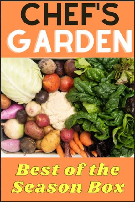 Win A Chef\'s Garden - Best Of The Season Box ($89 Value) ~ Giveaway Ends 11-19