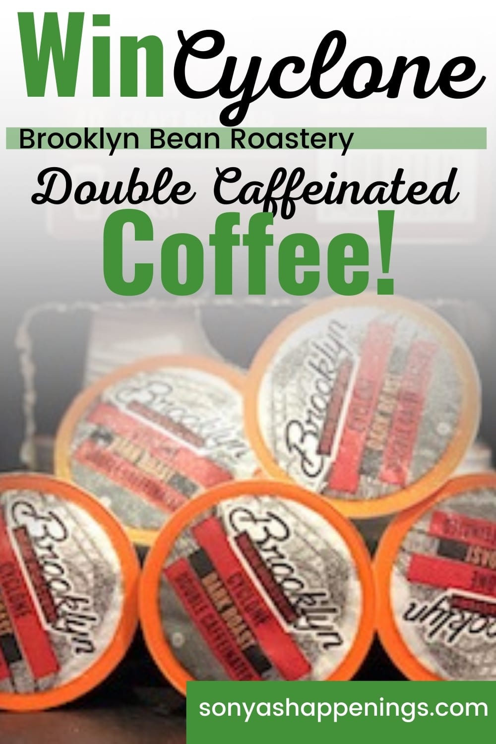 Win Cyclone Double Caffeinated Coffee ~ Giveaway Ends 10-31